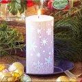 LEDキャンドル スノークリスタル  LED キャンドル ライト クリスマス