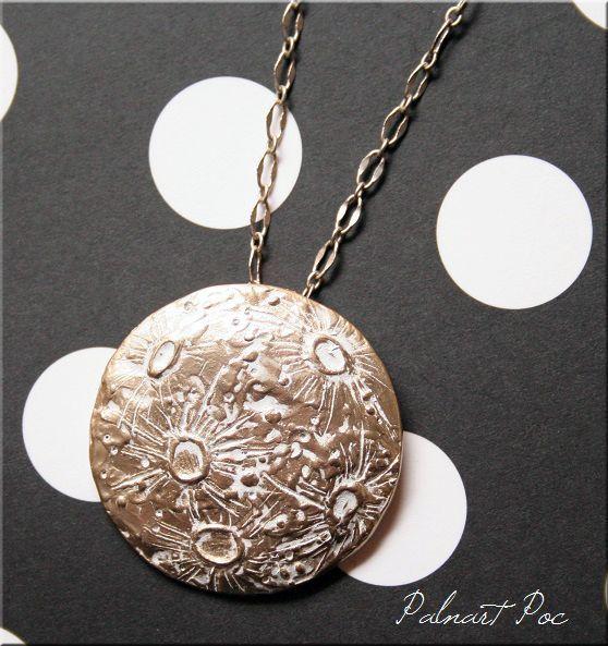画像1: 銀の縫い目 ネックレス