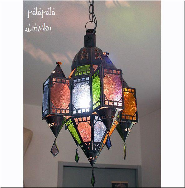 画像1: モロッコ ランタンランプ モスク M