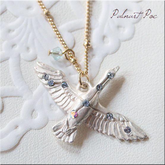 画像1: 白鳥座 ネックレス SV シルバーカラー 白鳥