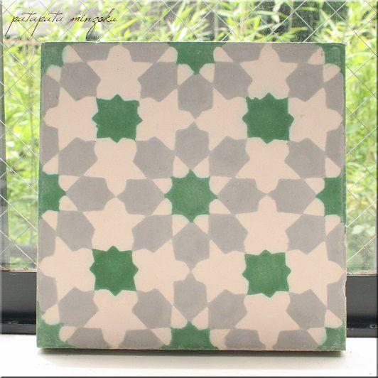 画像1: モロッコタイル セメントタイル コンクリート カラフル C タイル モロッコ