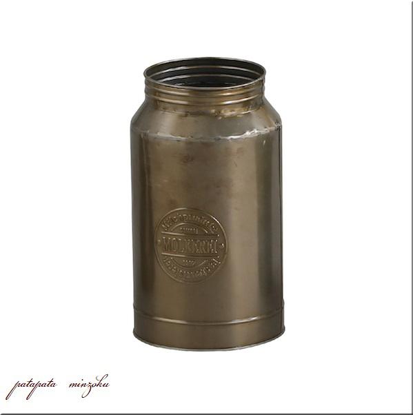 画像1: モルケライ・ジャーカップ L メタル ポット ミルク缶 ドラム缶