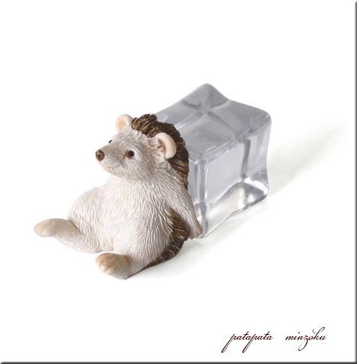 画像1: ICE ANIMALS へッジホッグ 置物 オブジェ ハリネズミ