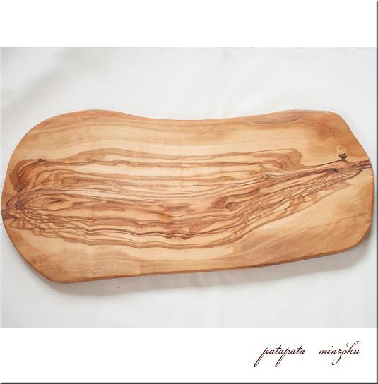 画像1: カッティングボード オリーブ の 木 まな板 L ナチュラルカッティングボード サービングボード