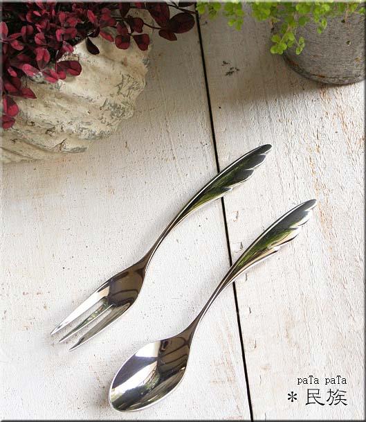 画像1: 天使のフォーク & スプーン